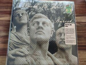 DEATH IN JUNE BURIAL LP REISSUE BLUE VINYL NUMBERED EDITION CURRENT 93 COIL