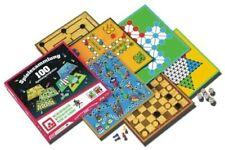 NSV 5002 Spielesammlung 100 Brettspiele Spiele Games Mühle Dame Leiterspiel NEU