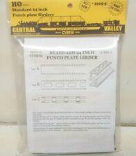 "Railroad Bridge Box Girder Sections Standard 24"" Punch Central Valley 1905-5 HO"