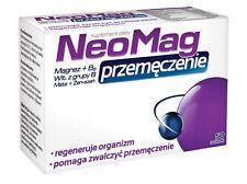NeoMag Przemęczenie Przemeczenie 50 Tab Magnesium Vit B6 B12 Wit B6 B12 Żeń Szeń