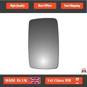 Left Side Stick On Convex wing mirror glass VW LT 28, 33, 35, 40, 4, 95-06 45LS