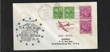 Erste Flug Neu Bern N.C St.Petersburg Mai 21,1946