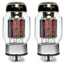 TPD Matched Pair JJ Electronic KT88 6550 New Vacuum Tube TESTED Power Tube Amp