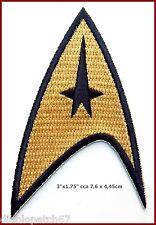 Velc. Star Trek TOS 1st and 2nd Season Starfleet Command Insignia Patch