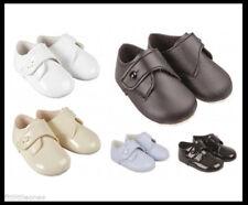 BABY BOYS PRAM SHOES,TODDLER,BUTTON,CHRISTENING/BAPTISM/WEDDING,BAYPODS