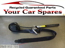 VW Sharan Seat Belt Driver Side Front  7M3857706