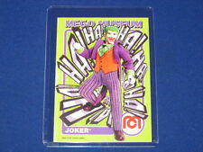 DC COMICS THE JOKER BATMAN VILLAIN WGSH MEGO MUSEUM PROMO TRADING CARD