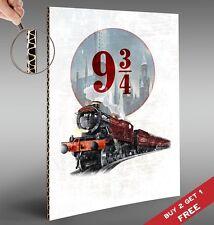 Harry Potter A4 POSTER 9 3/4 PLATFORM HOGWARTS EXPRESS Gift Wall Art Print