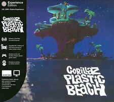 Plastic Beach [Deluxe Edition] [CD/DVD] [PA] by Gorillaz (CD, Mar-2010, 2 Discs,