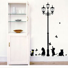 Cute Cat Removable Decal Room Wall Sticker DIY Home Family Decor Vinyl Art