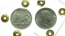 pcc1595) Vittorio Emanuele III (1900-1943) 50 cent Impero 1936 - sigil CAVALIERE