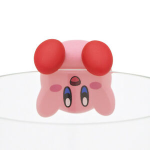 Kirby of Stars PVC Decoration Putitto Figure Ochatomo Series~ #B Sakasama @17758