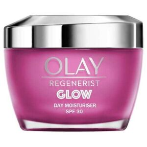 Olay Glow Regenerist Light Moisturiser With SPF30, 50ml B3 New In Band new Fast