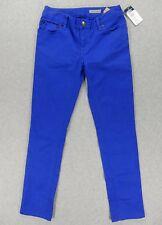 Nwt Polo Ralph Lauren Bowery Skinny Pants (Girls Size 10) Blue