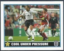 MERLIN-ENGLAND 2006 WORLD CUP- #067-ENGLAND & MANCHESTER UNITED-RIO FERDINAND