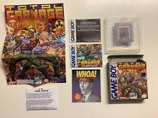 Total Carnage - Nintendo Gameboy Spiel Game Retro - mit OVP und Anleitung