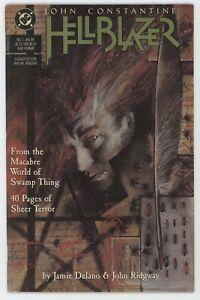 Hellblazer 1 DC 1988 FN John Constantine Justice League Dark Swamp Thing