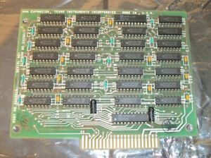 128K RAM Upgrade Board for TI Texas Instruments Professional Computer PC 1982