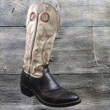 Tony Lama Mens Boots 4830 Tall Buckaroo Leather Cowboy Western 9.5 D