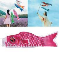 40cm Waterproof Japanese Carp Windsock-Streamer-Hanging Fish Decor Fla HOT U1I2