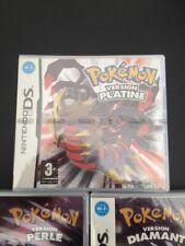Pokemon Version Platine Neuf Sous Blister REPRO (diamant, perle) Nintendo ds