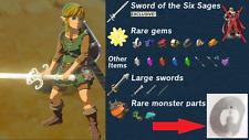 Zelda Breath Of The Wild Ganondorf Amiibo Nfc Tag Switch Wii U NO CARD