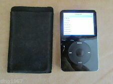 Apple iPod 30 GB classic 5th Generation Black A1238 working condition original