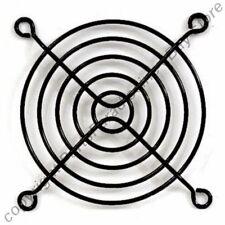 "80mm/3""inch/8cm Metal Wire Box/Case Fan Grill/Finger Guard/Protector/Cover{BLACK"