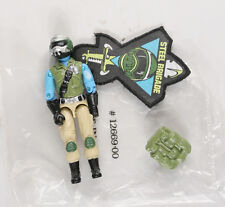 Hasbro G.I. Joe Steel Brigade Mail in figure Mint Loose unplayed with NO GUN!