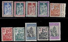 REGNO D'ITALIA 1928 - EMANUELE FILIBERTO 10 VALORI INTEGRI n.S.49 € 600