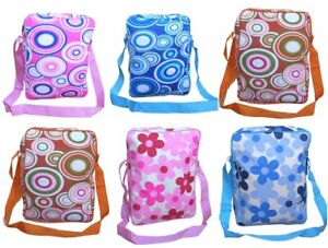 Ladies Womens Hand Shoulder Flower Power Print Design Art Tote Bag Canvas Retro