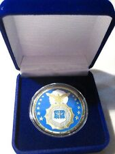 United States Air Force SECURITY FORCES Challenge Coin w/ Presentation Box