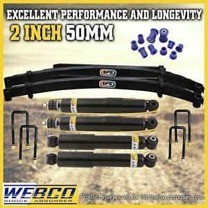 2 Inch 50mm Easy Lift Kit Shocks EFS Leaf Springs for Nissan Navara D21 D22