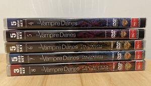 Vampire Diaries ~ Seasons 4 - 8 (Region 4 DVD Sets) *Free Postage*