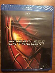Blu-ray SPIDER-MAN La trilogia (3 Dischi)