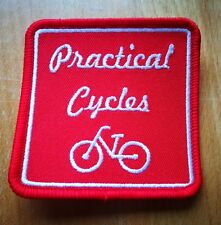 Practical Cycles Embroidered Fabric Patch - Iron or Stitch on