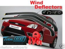 Ford Fiesta MK6  2002 - 2008  3.doors  Wind deflectors 2.pc  HEKO 15258