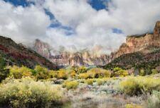6.5x5 Clamp Backdrop Mountain Landscape Background Photography Studio Prop Vinyl