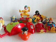 vintage mcdo mcdonald's fast food collectible toy figure set