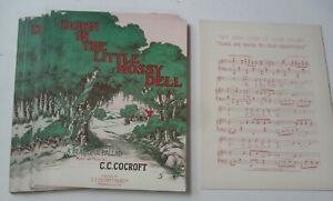 Wholesale Lot of 25 Old 1909 - LITTLE MOSSY DELL Sheet Music Thomasville GEORGIA