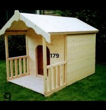 LUXURY DOG KENNEL WITH VERANDAH. SUMMER HOUSE STYLE