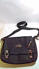 ibagbar Canvas Messenger Bag Shoulder Bag Black