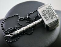Marvel Thor's Hammer Mjolnir Pendant Necklace w/Free Jewelry Box and Shipping