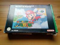 Super Mario 64 for Nintendo 64 - PAL Version
