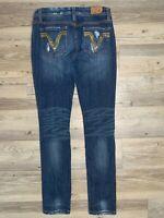 Vigoss Collection Women's Jeans Size 3 The Miami Skinny Distressed 30 Inseam GUC
