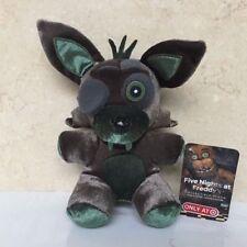 "FNAF Funko Five Nights At Freddy's 7"" Phantom Foxy Collectible Plush Toy"