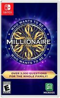 Who Wants to be a Millionaire for Nintendo Switch [New Video Game]