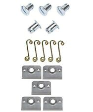 Quarter Turn Dzus Fasteners - Springs - Plates - 5 pack - .500 Steel -IMCA USMTS