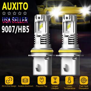 B3 Pair 9007 HB5 LED Headlight bulb 200W 24000LM High Low beam 6500K for NISSAN