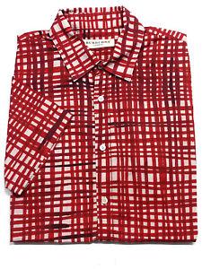Burberry Sommer Hemd Grösse XS Figur betonend geschnitten K311